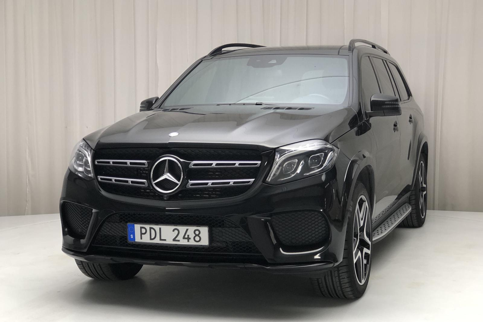 Mercedes GLS 350 d 4MATIC X166 (258hk) - 0 km - black - 2017