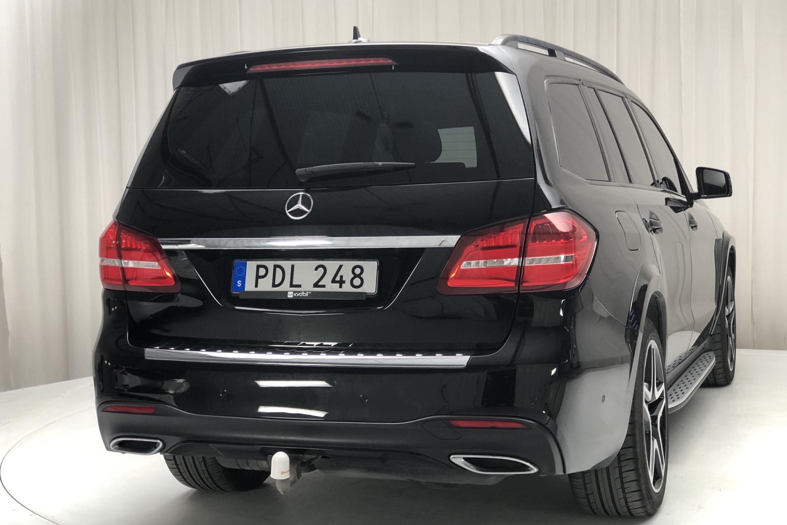 Mercedes GLS 350 d 4MATIC X166 (258hk) - 0 mil - svart - 2017