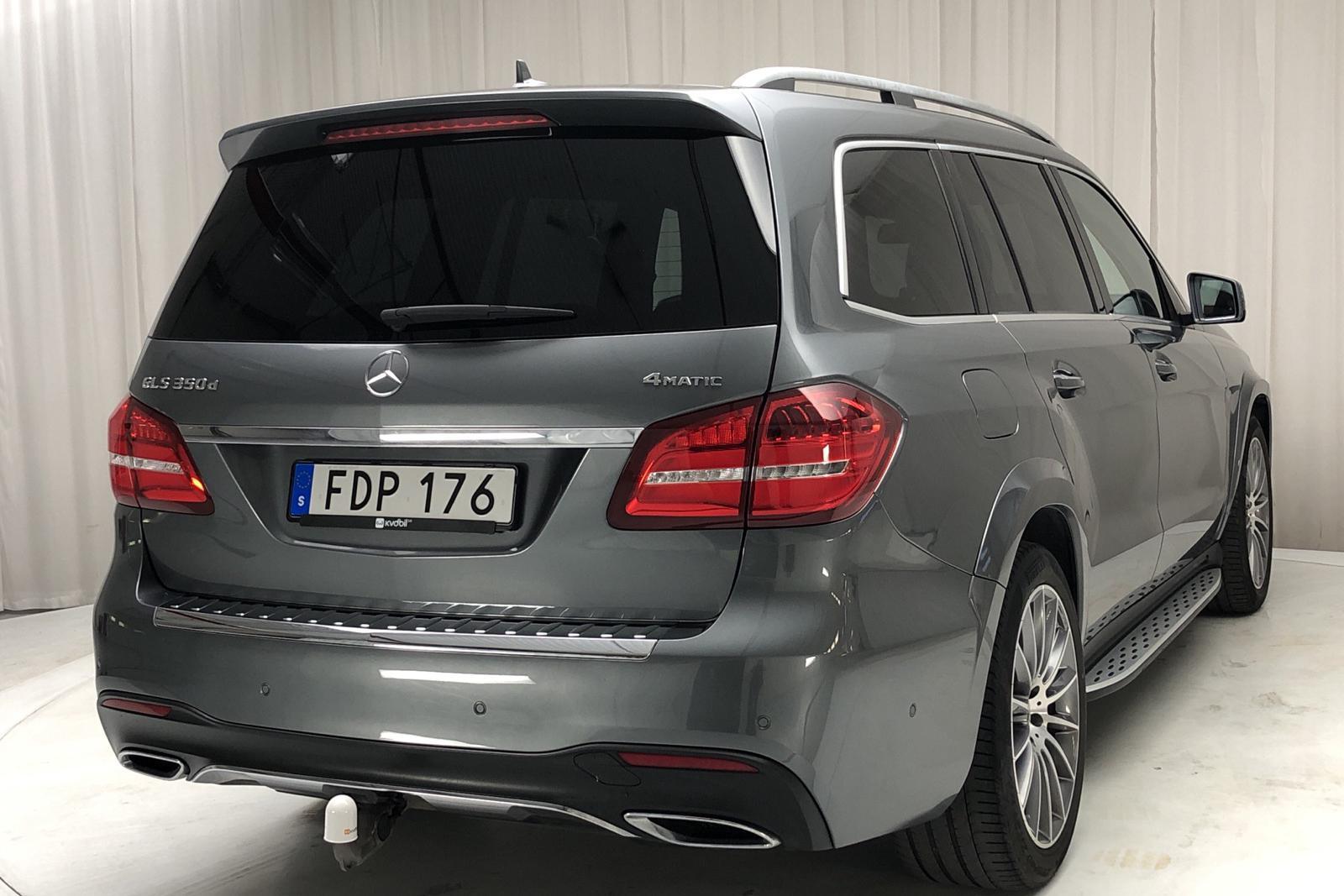 Mercedes GLS 350 d 4MATIC X166 (258hk) - 0 mil - grå - 2017