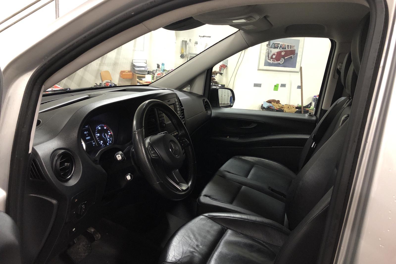 Mercedes Vito 119 BlueTEC 4x4 W640 (190hk) - 59 080 km - Automatic - silver - 2017