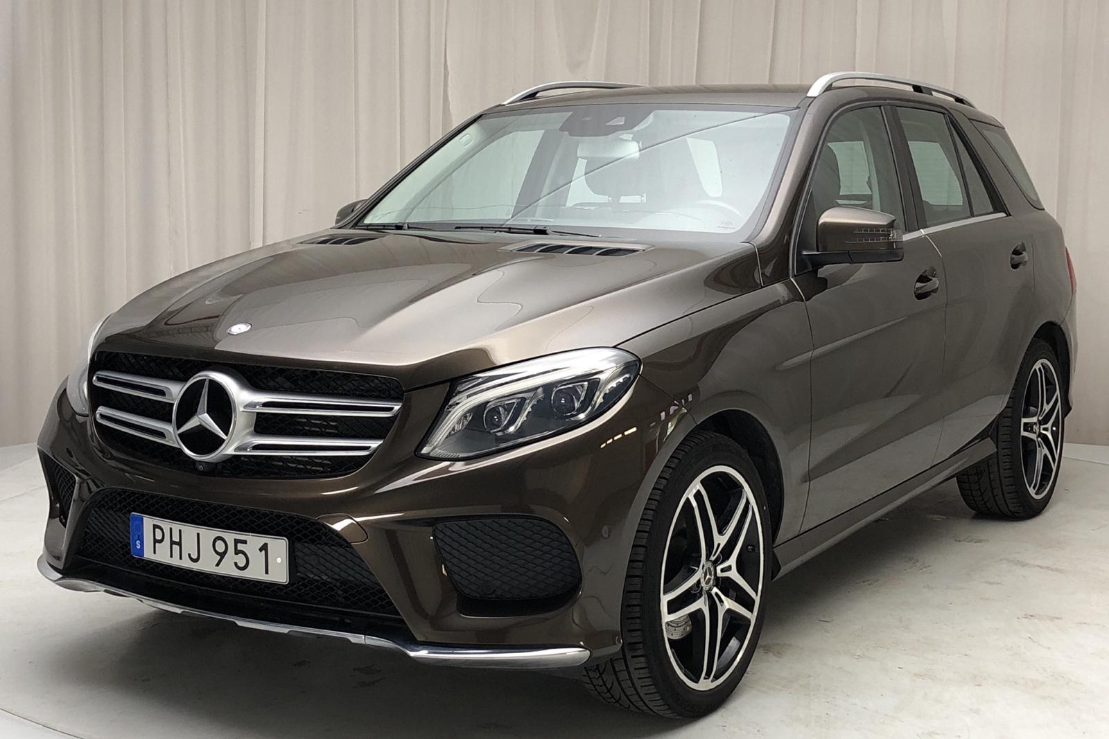 Mercedes GLE 350 d 4MATIC W166 (258hk) - 4 780 mil - Automat - Dark Brown - 2017