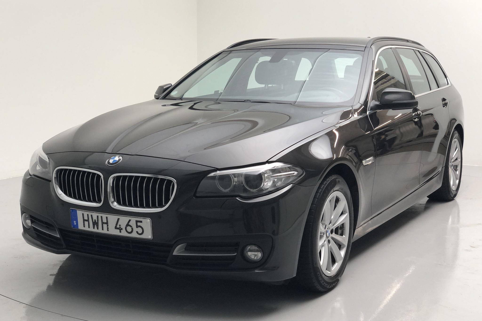 BMW 520d Touring, F11 (190hk) - 169 870 km - Automatic - brown - 2016