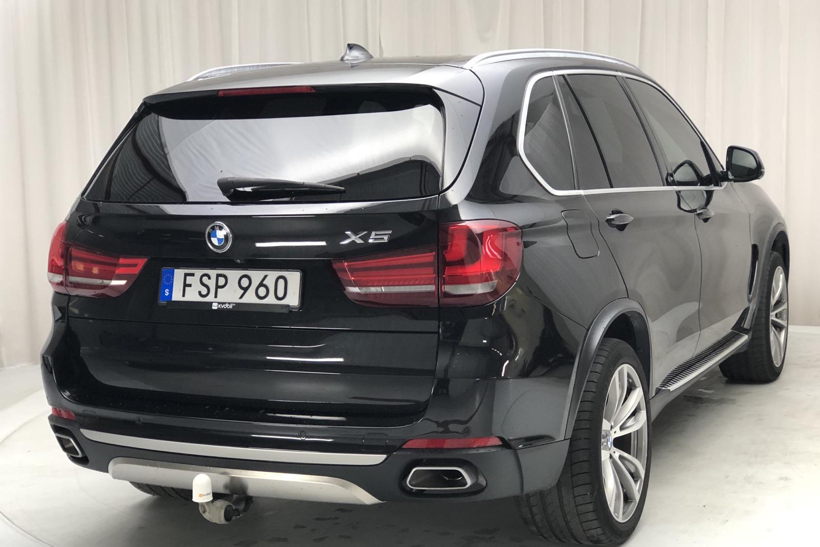 BMW X5 xDrive40d, F15 (313hk) - 14 000 mil - Automat - svart - 2015