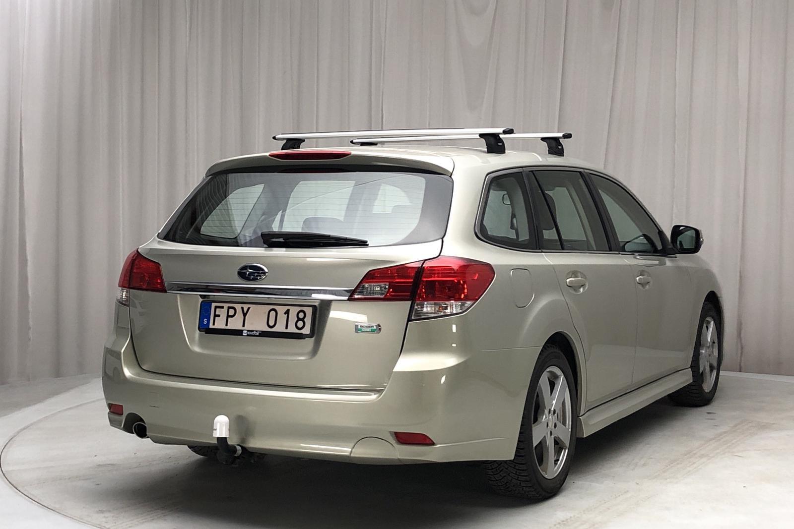 Subaru Legacy 2.5i Station (167hk) - 79 980 km - Automatic - Light Yellow - 2012