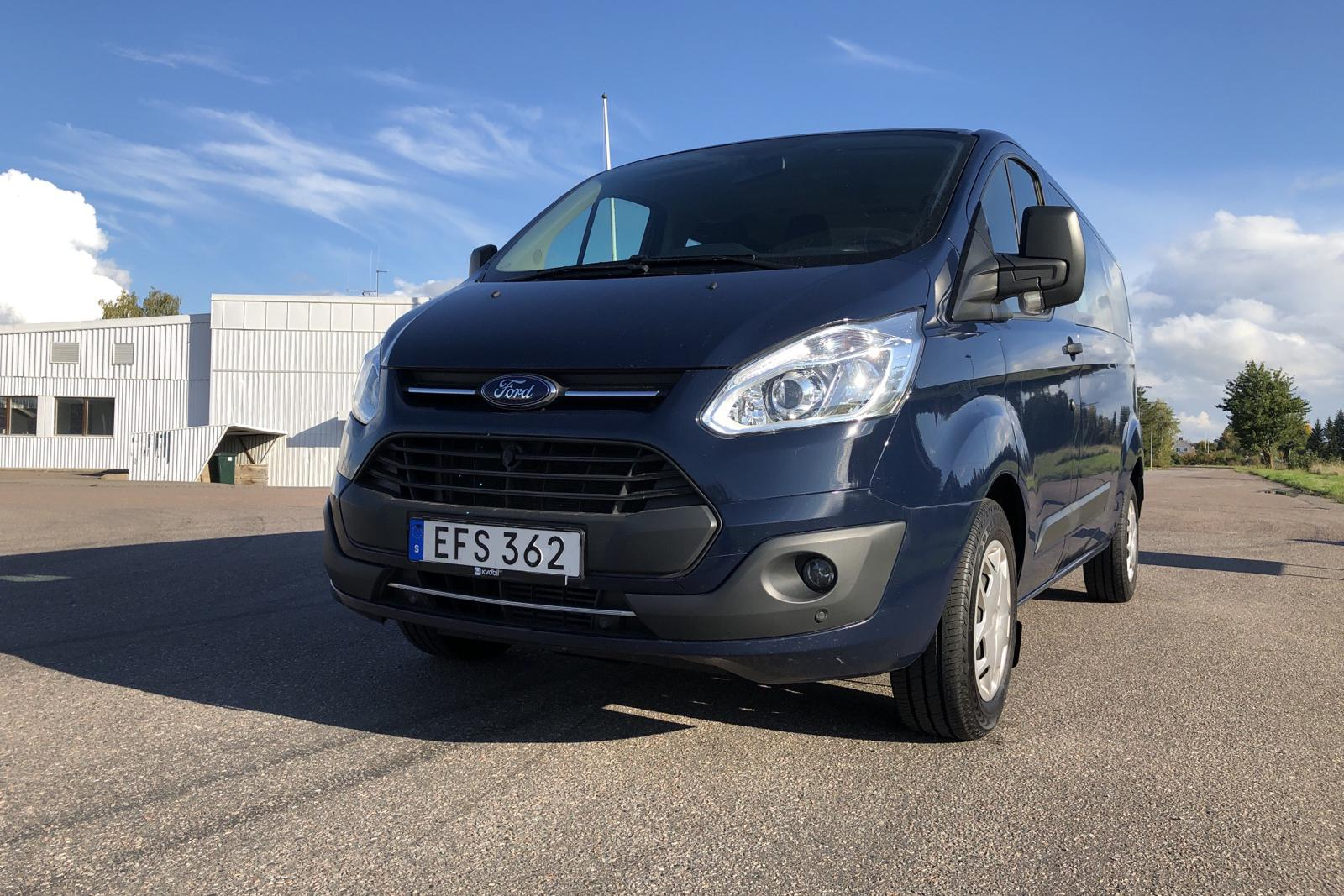 Ford Transit Custom 310 (130hk) - 71 077 km - Automatic - blue - 2017