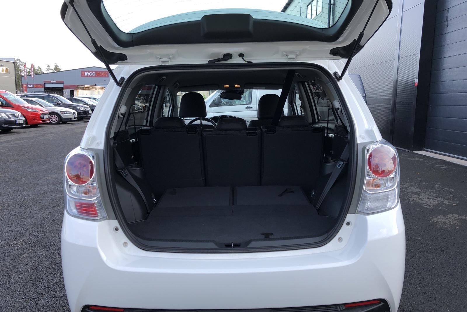 Toyota Verso VVT-i 1.8 (147hk) 7 sits - 20 000 km - Manual - white - 2017