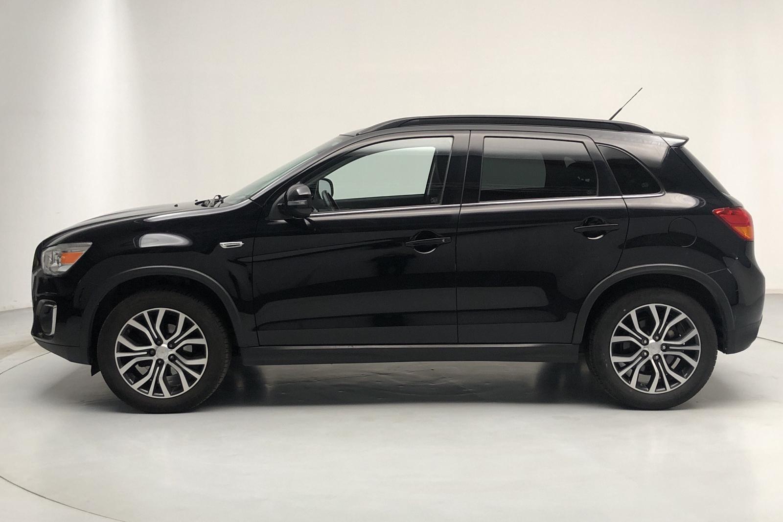Mitsubishi ASX 1.6D 4WD (114hk) - 77 000 km - Manual - black - 2015