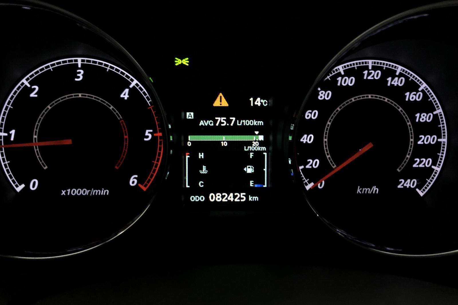 Mitsubishi ASX 1.6D 4WD (114hk) - 7 700 mil - Manuell - svart - 2015