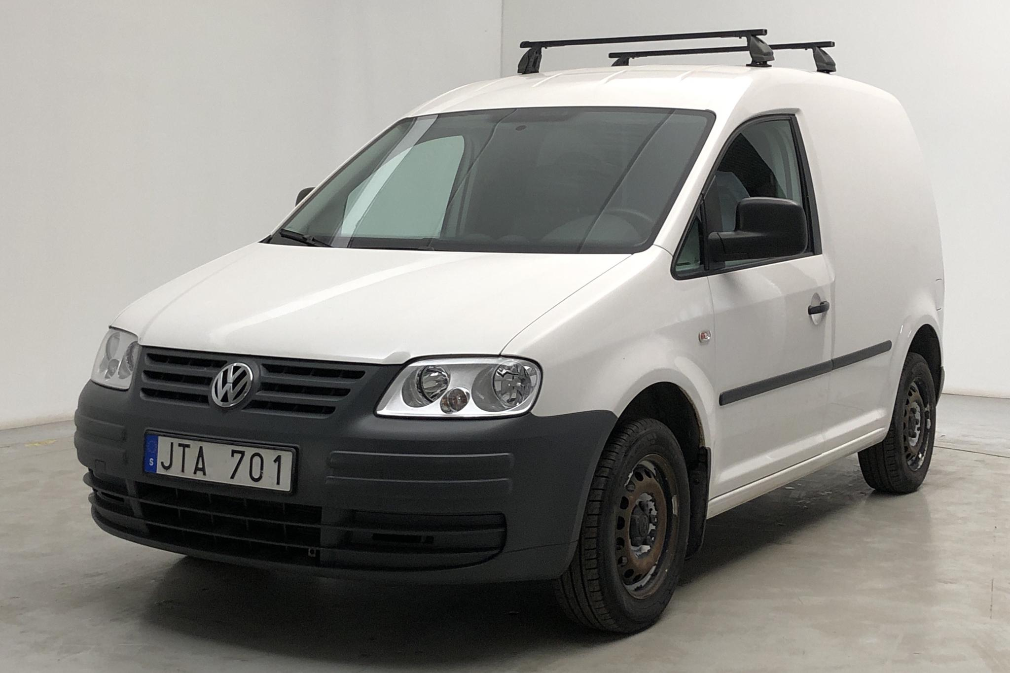 VW Caddy 2.0 Ecofuel Skåp (109hk) - 51 740 km - Manual - white - 2009
