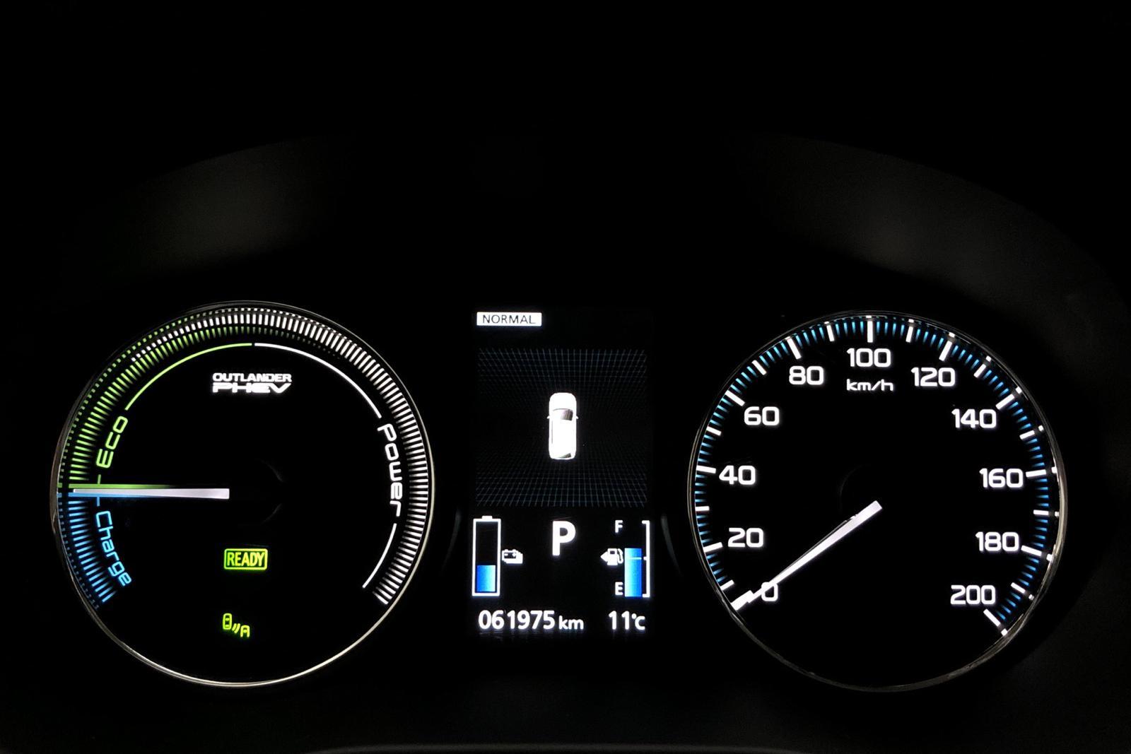 Mitsubishi Outlander 2.0 Plug-in Hybrid 4WD (121hk) - 0 mil - Automat - vit - 2018