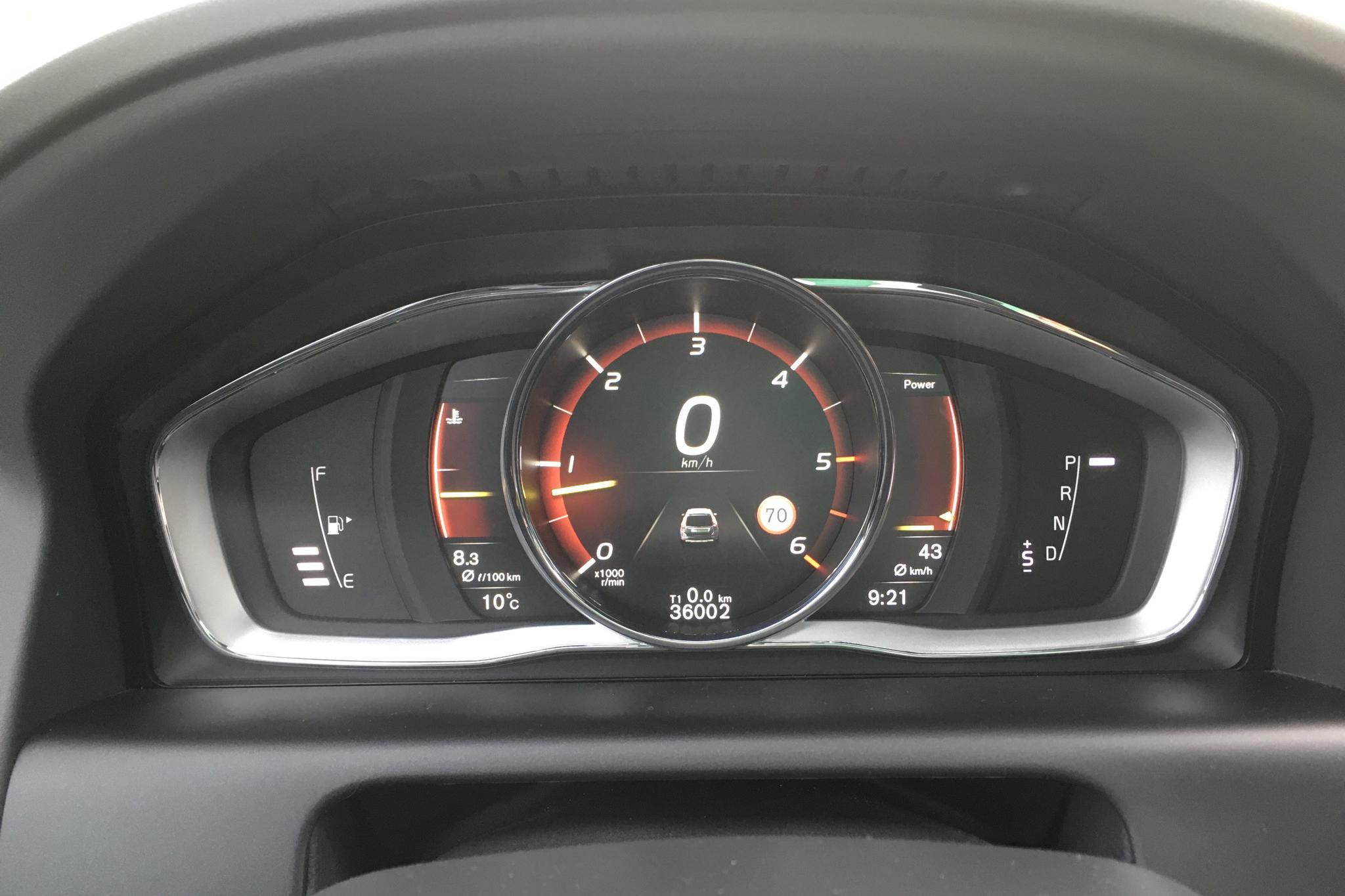 Volvo XC60 D4 AWD (190hk) - 36 000 km - Automatic - silver - 2017