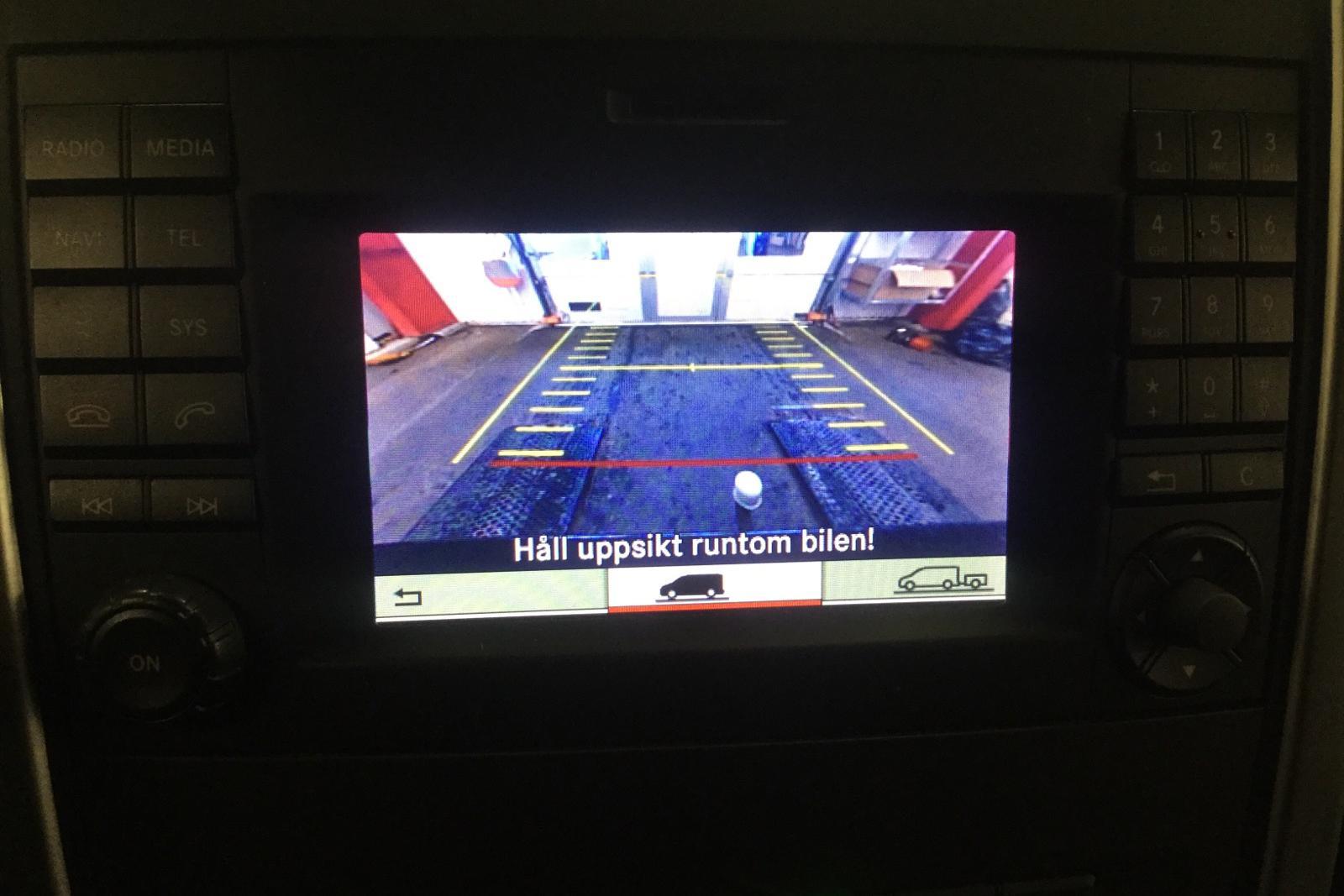 Mercedes Vito 119 Mixto BlueTEC 4x4 W640 (190hk) - 11 000 mil - Automat - svart - 2016