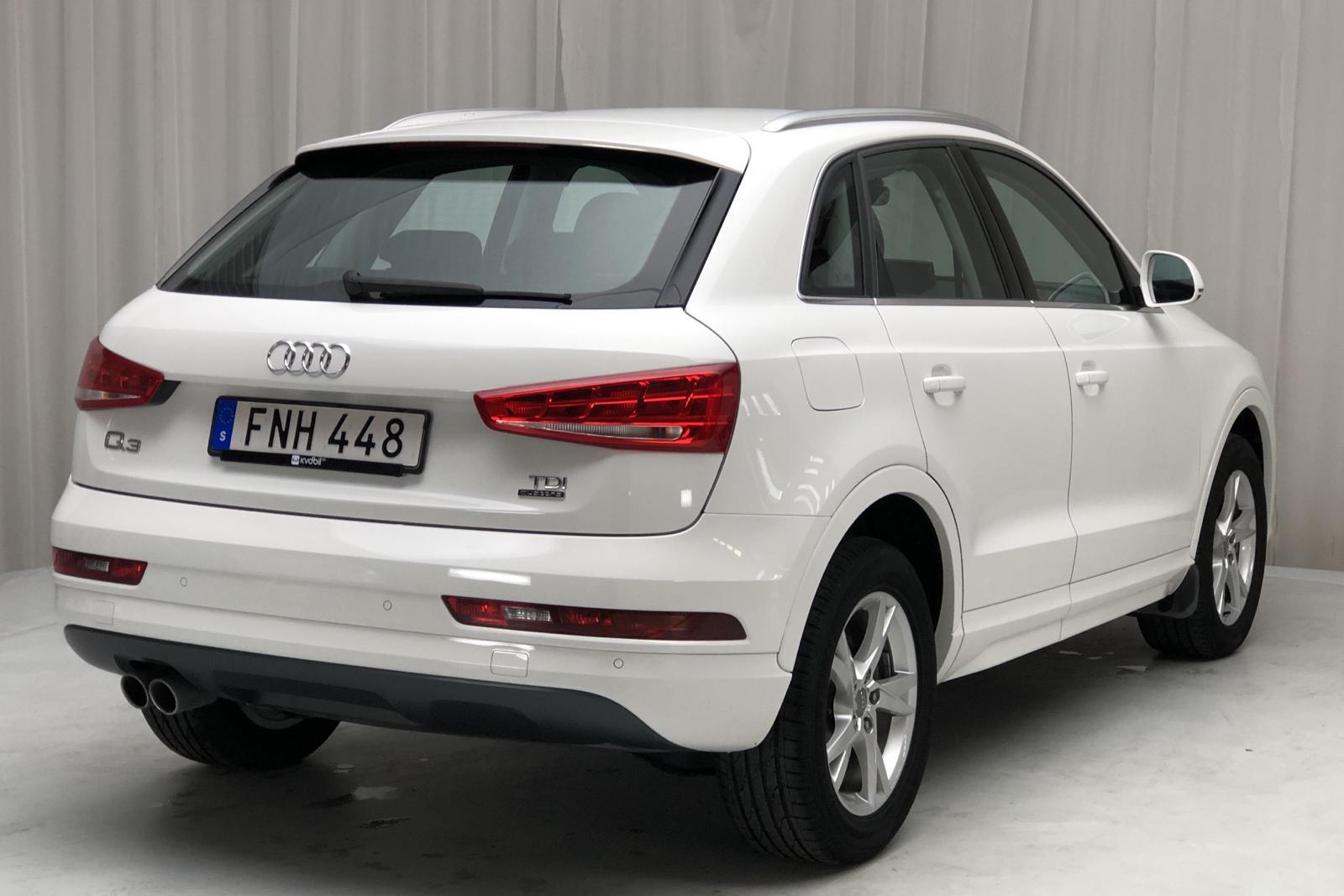 Audi Q3 2.0 TDI quattro (150hk) - 0 mil - Manuell - vit - 2018