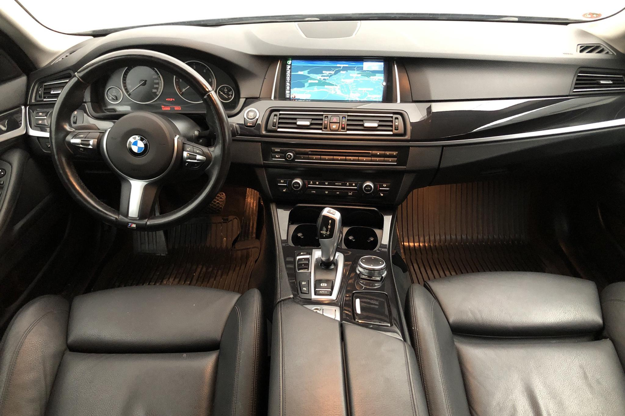 BMW 520d xDrive Touring, F11 (190hk) - 133 880 km - Automatic - black - 2017