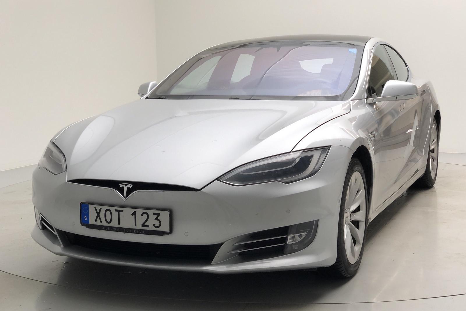 Tesla Model S 75D (525hk) - 0 km - gray - 2018