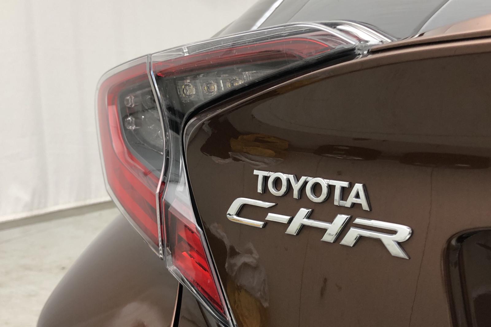 Toyota C-HR 1.8 HSD (122hk) - 0 mil - Automat - brun - 2017