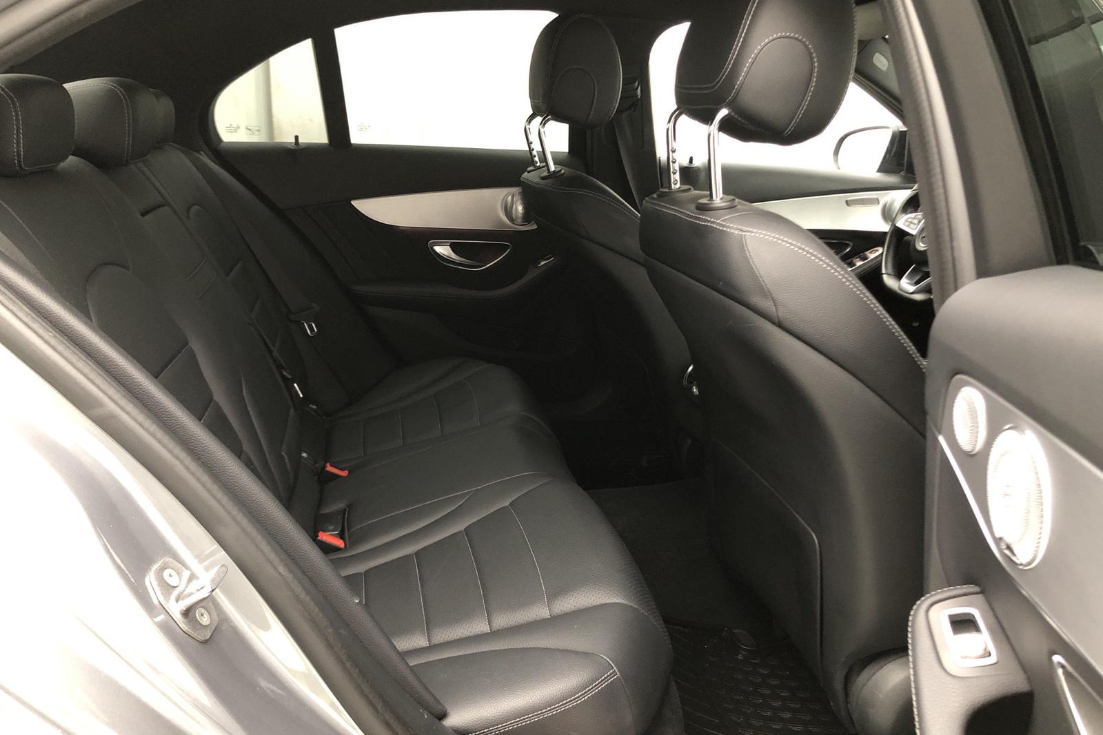 Mercedes C 220 d 4MATIC W205 (170hk) - 19 700 mil - silver - 2017