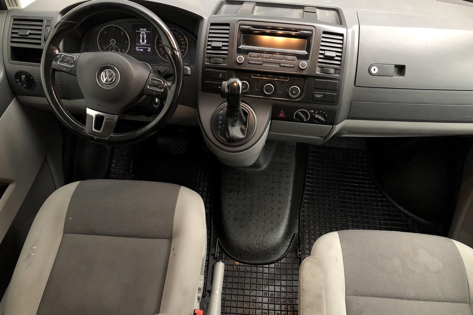 VW Transporter T5 2.0 TDI 4MOTION (180hk) - 18 800 mil - Automat - grå - 2014