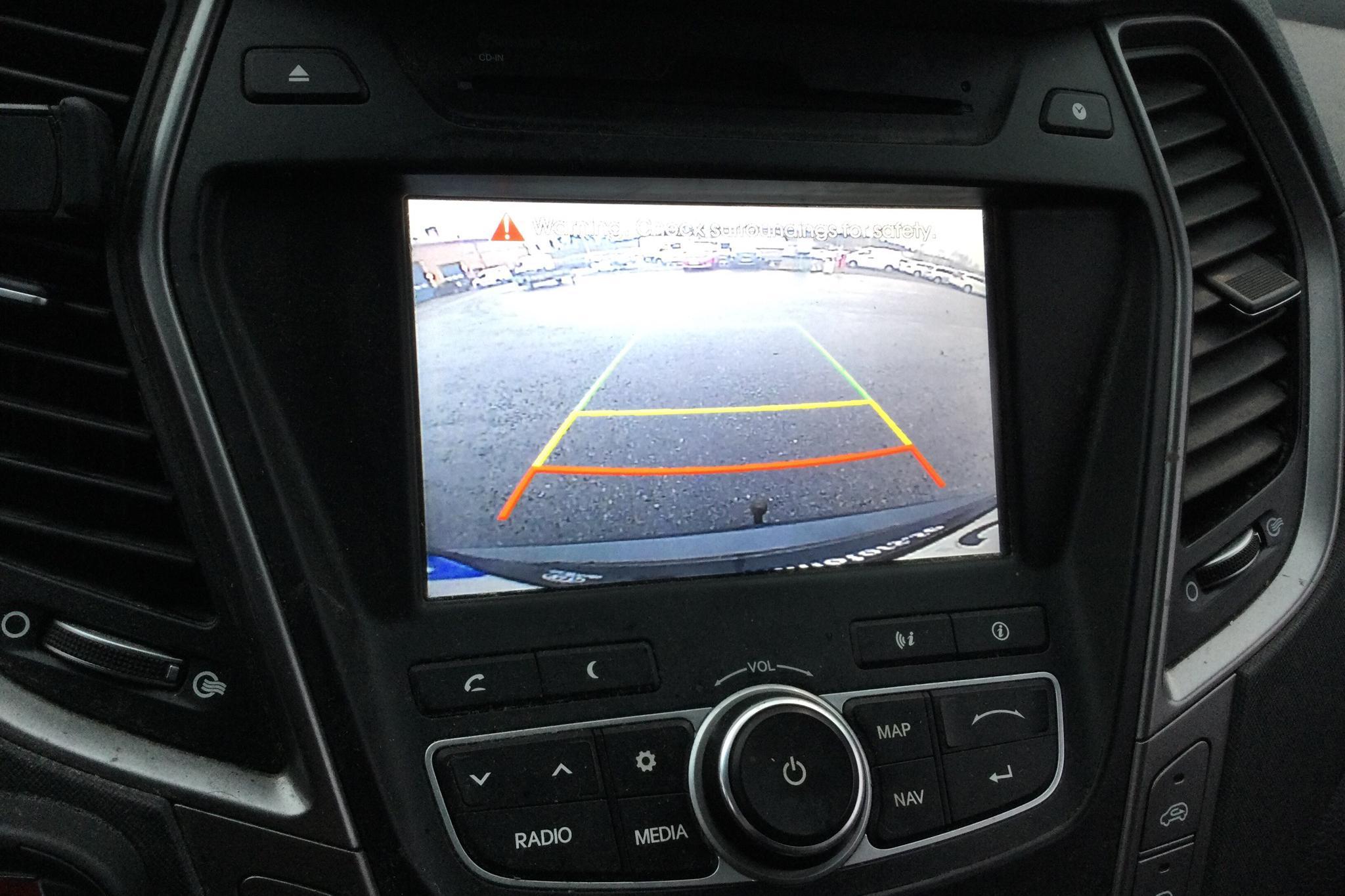 Hyundai Grand Santa Fé 2.2 CRDi-R 4WD (197hk) - 10 329 mil - Automat - Dark Green - 2014