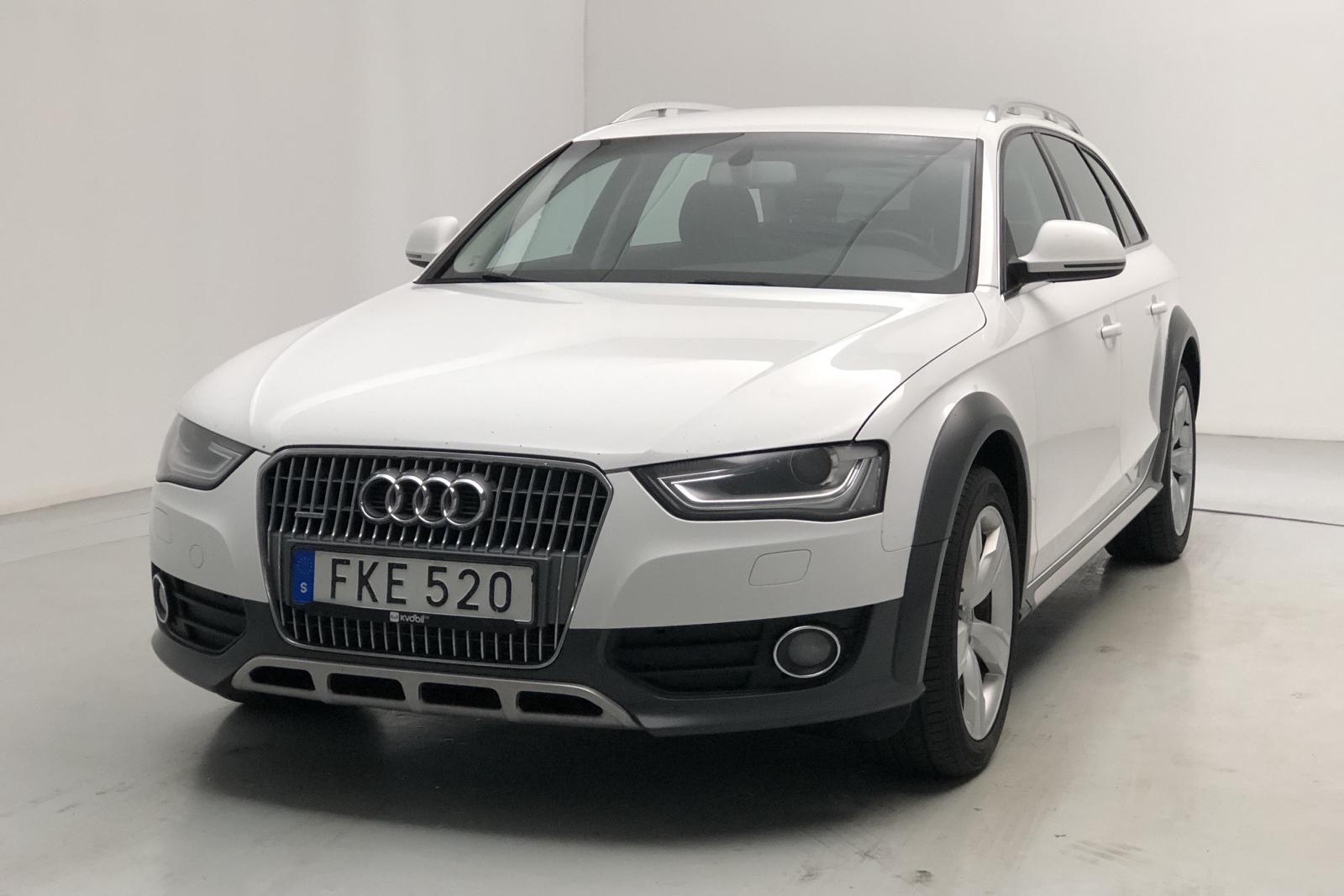 Audi A4 Allroad 2.0 TDI Avant quattro (150hk) - 0 mil - Manuell - vit - 2015