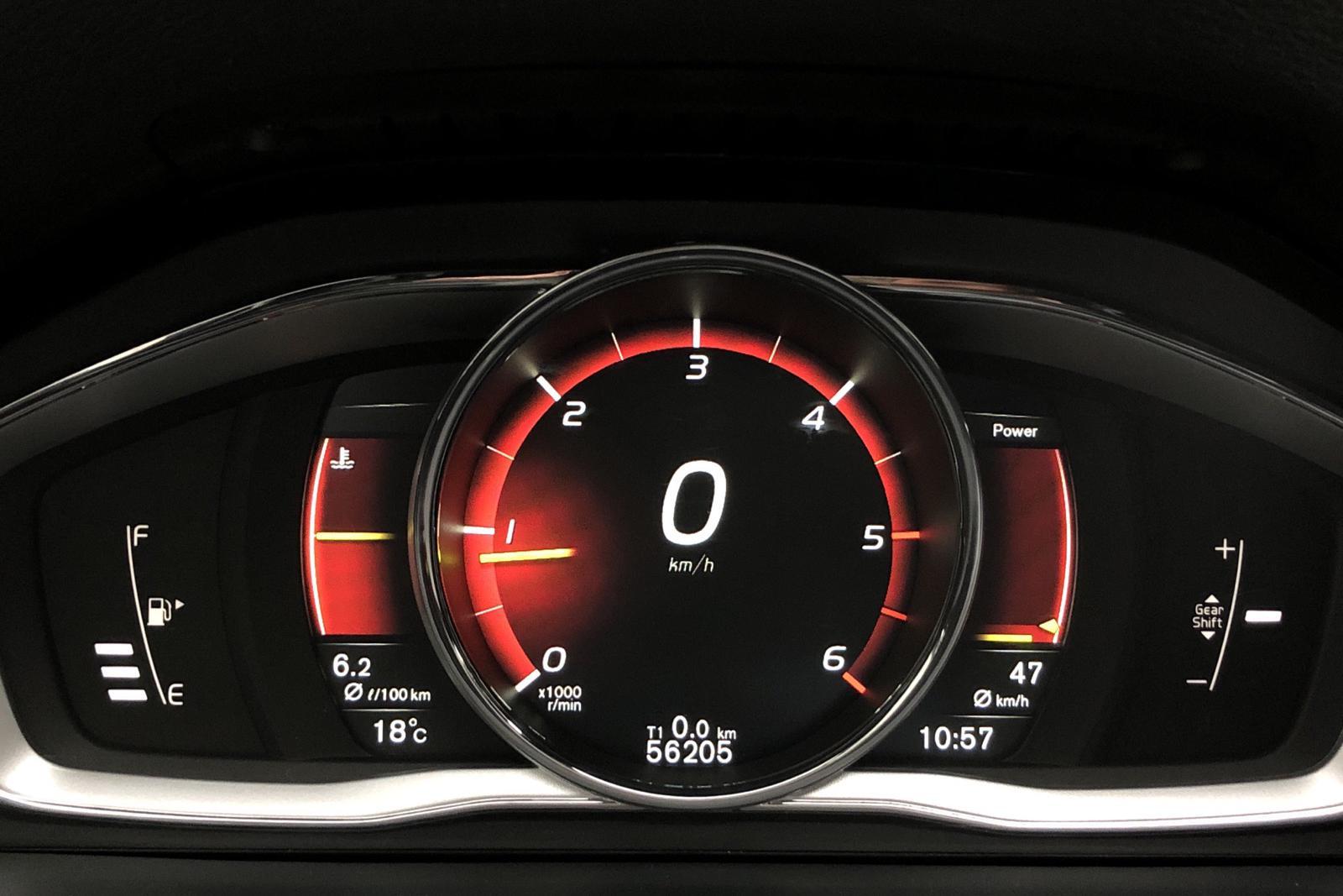 Volvo V60 D4 (190hk) - 47 070 km - Manual - gray - 2017