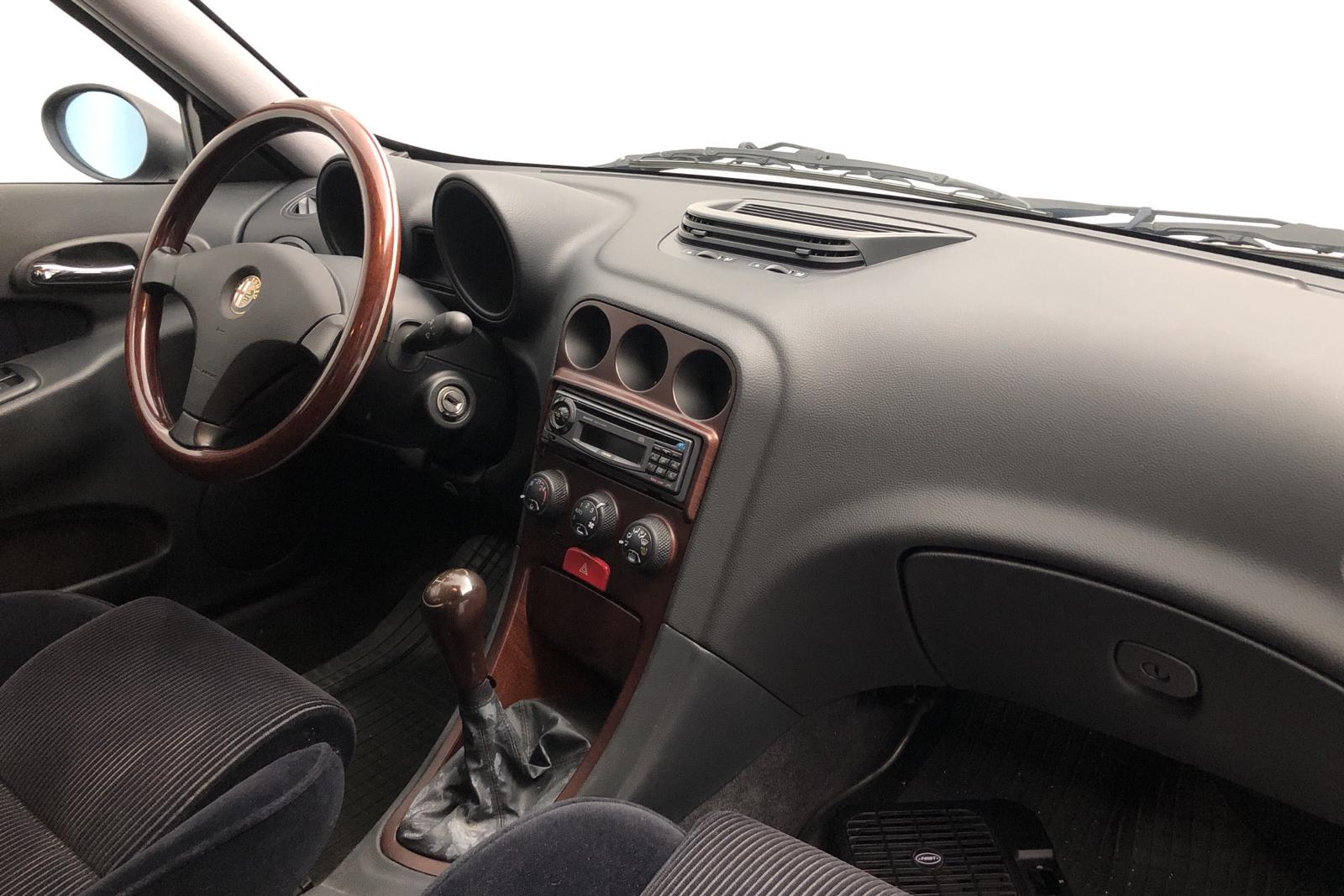 Alfa Romeo 156 2.0 TS (155hk) - 4 435 mil - Manuell - Dark Blue - 1998