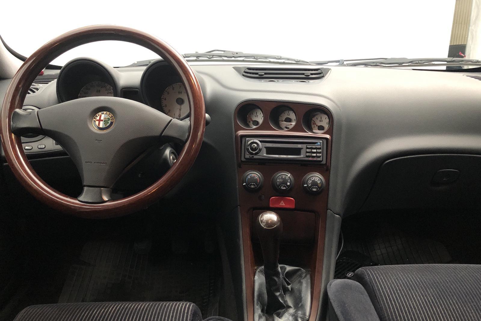 Alfa Romeo 156 2.0 TS (155hk) - 44 350 km - Manual - Dark Blue - 1998