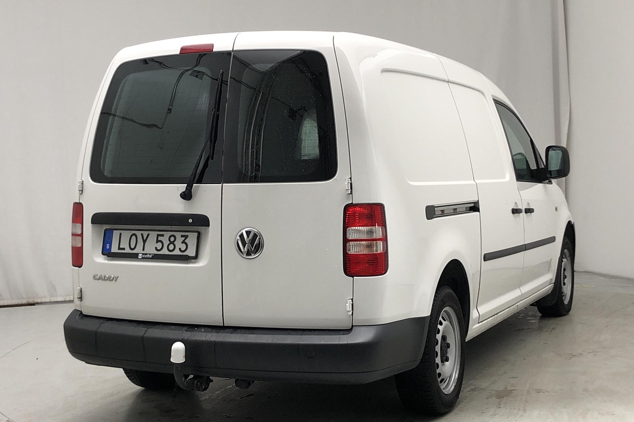 VW Caddy 1.6 TDI Maxi Skåp (102hk) - 104 550 km - Automatic - white - 2015