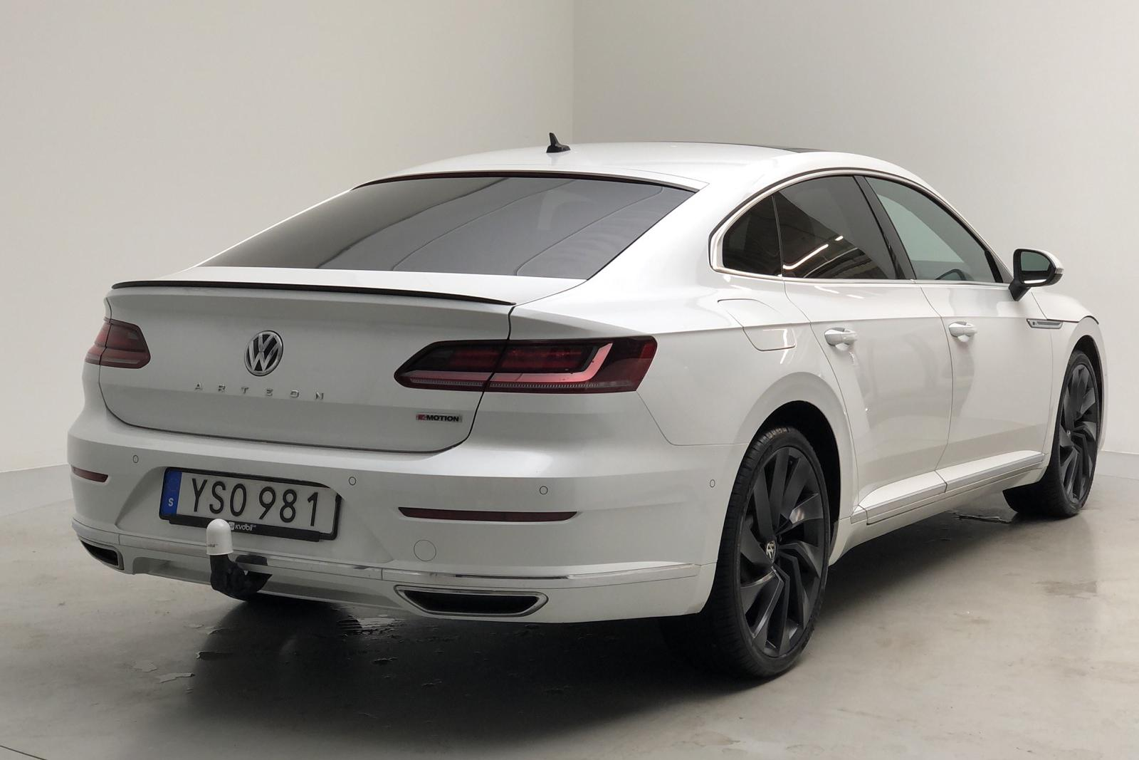VW Arteon 2.0 TDI 4MOTION (240hk) - 0 km - Automatic - white - 2018