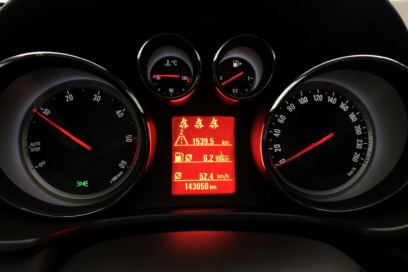 Opel Insignia 2.0 CDTI ecoFLEX Sports Tourer (160hk) - 14 000 mil - Manuell - svart - 2012