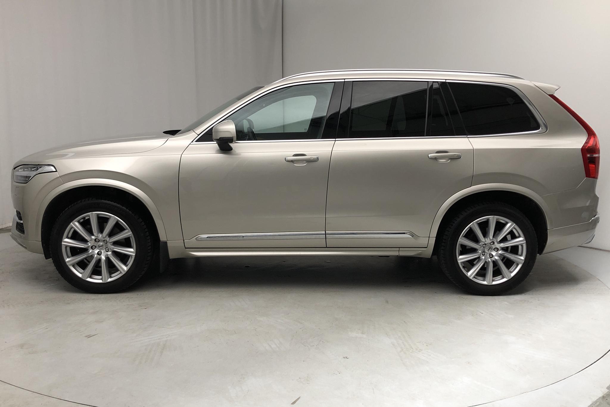 Volvo XC90 D5 AWD 7 sits Inscription (235hk) - 5 500 mil - Automat - Light Brown - 2018