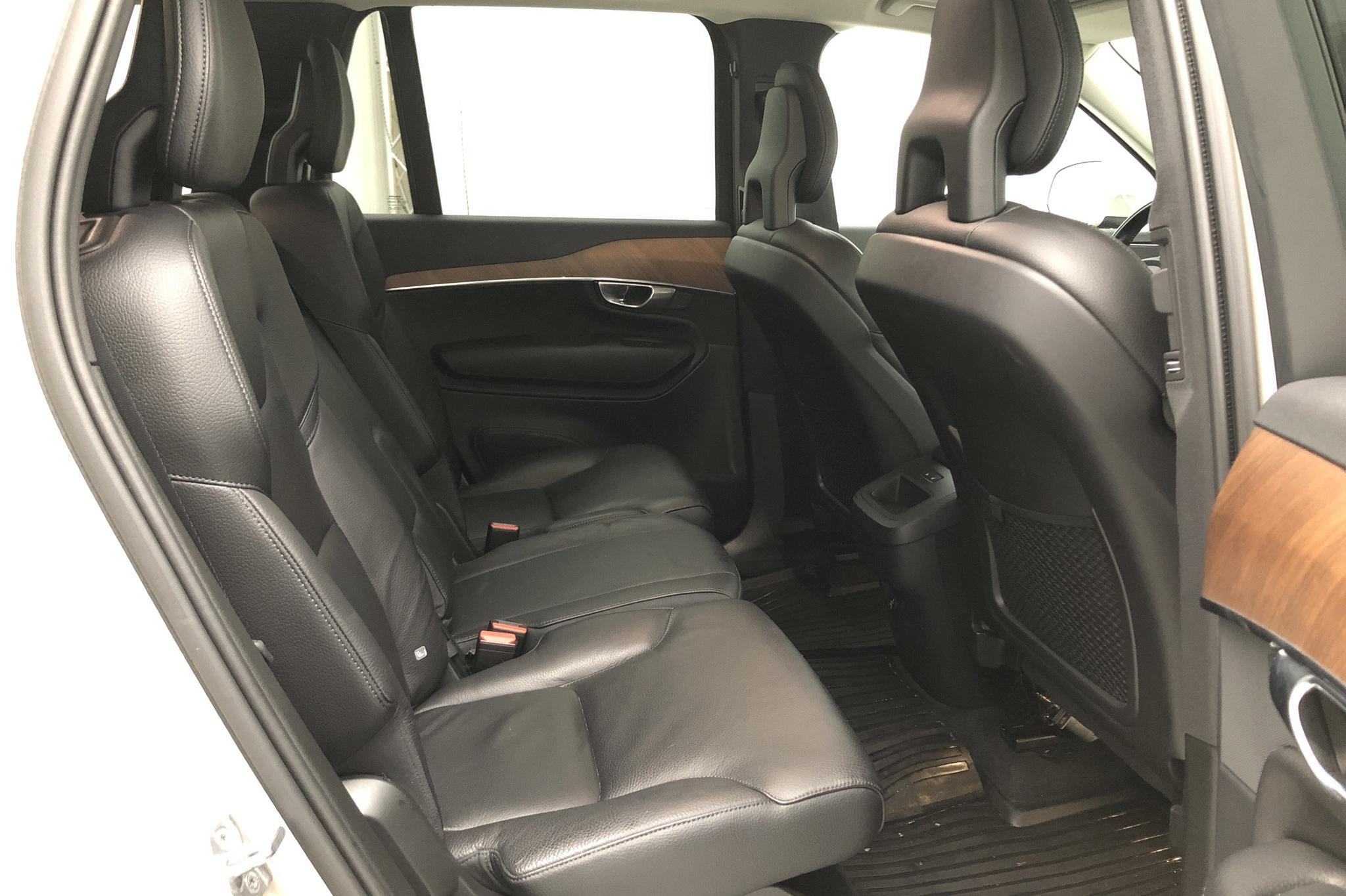 Volvo XC90 D5 AWD 7 sits Inscription (235hk) - 55 000 km - Automatic - Light Brown - 2018