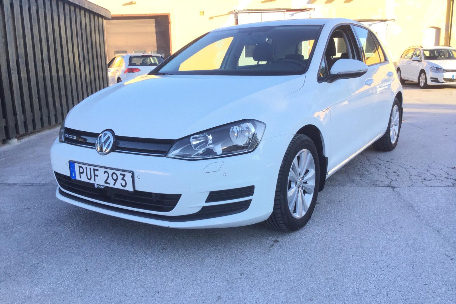 VW Golf VII 1.4 TGI 5dr (110hk) - 0 km - Manual - white - 2015