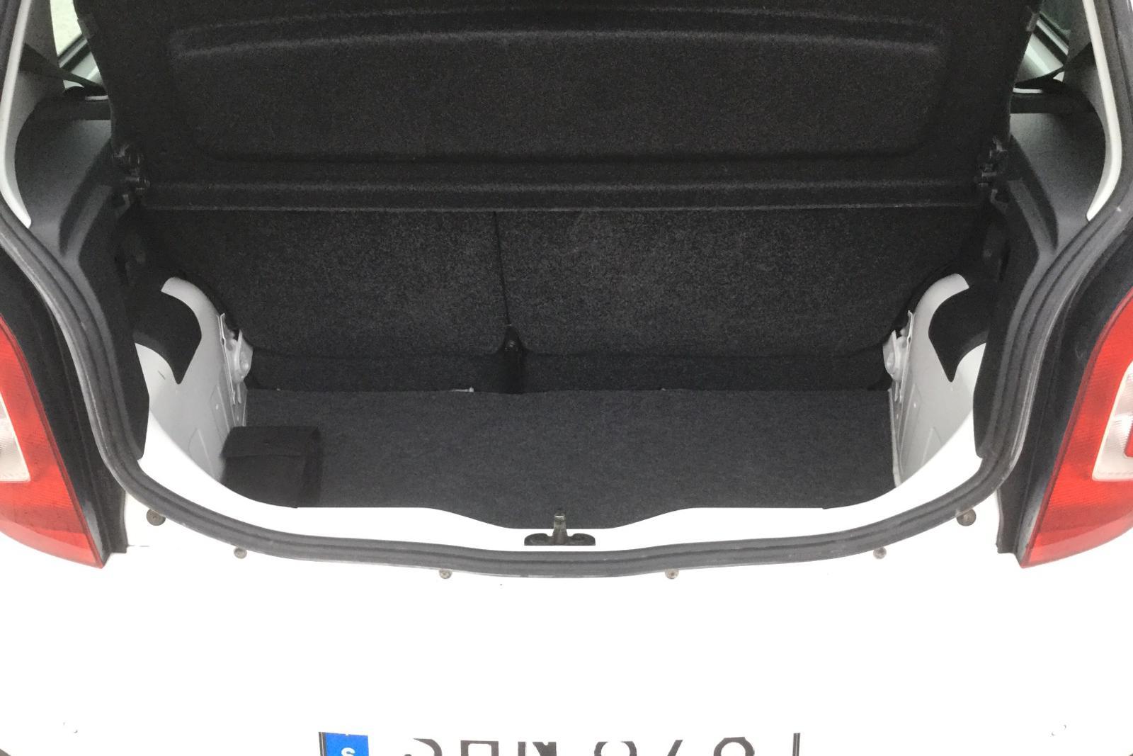 VW up! 1.0 5dr CNG (68hk) - 0 mil - Manuell - vit - 2015