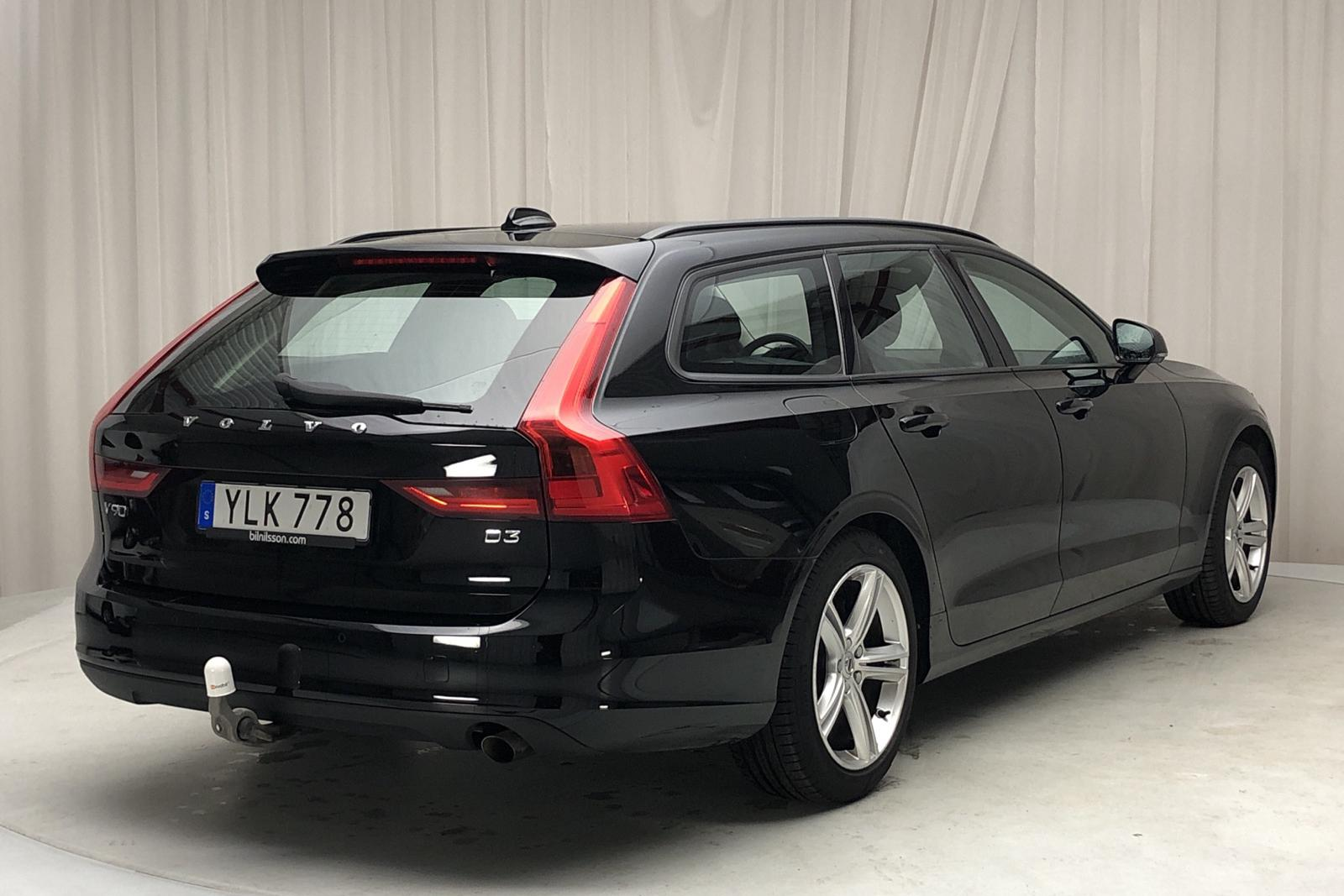Volvo V90 D3 (150hk) - 199 720 km - Manual - black - 2017