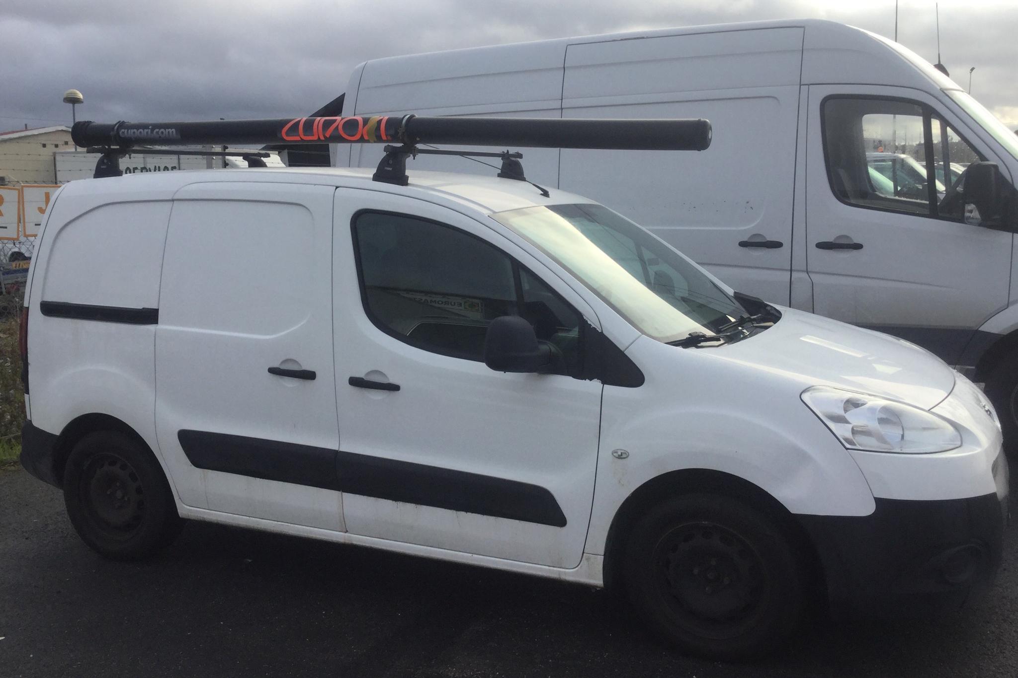 Peugeot Partner 1.6 HDI Skåp (114hk) - 0 km - Manual - white - 2013
