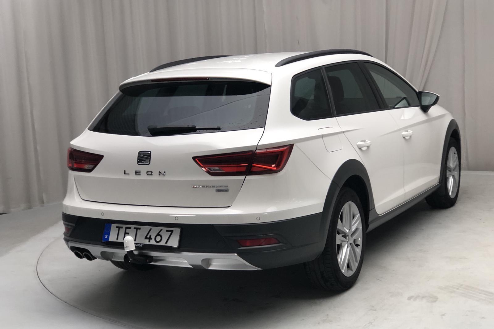 Seat Leon 2.0 TDI ST X-PERIENCE 4Drive (150hk) - 0 km - Manual - white - 2018
