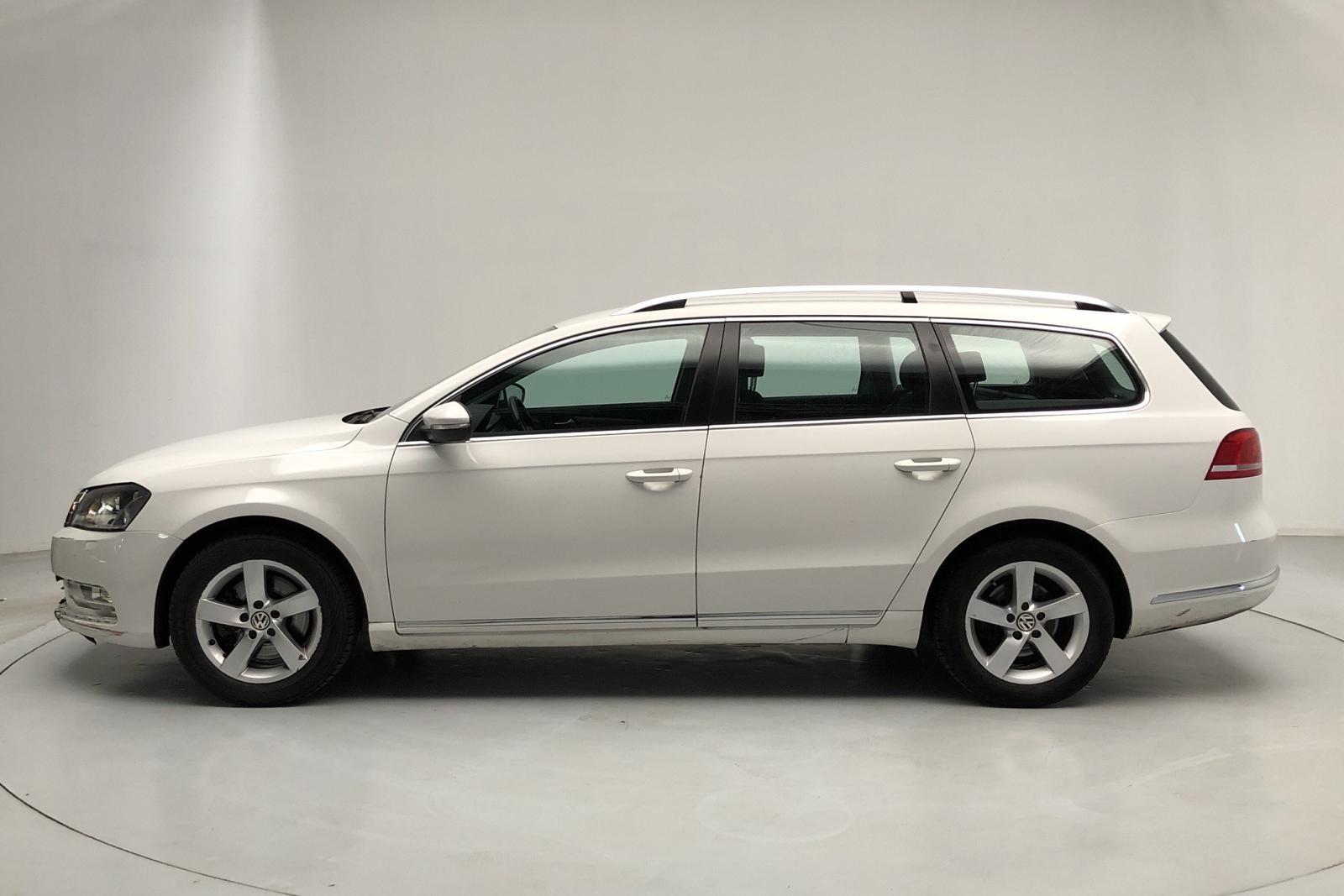 VW Passat 1.4 TSI EcoFuel Variant (150hk) - 0 km - Automatic - white - 2015