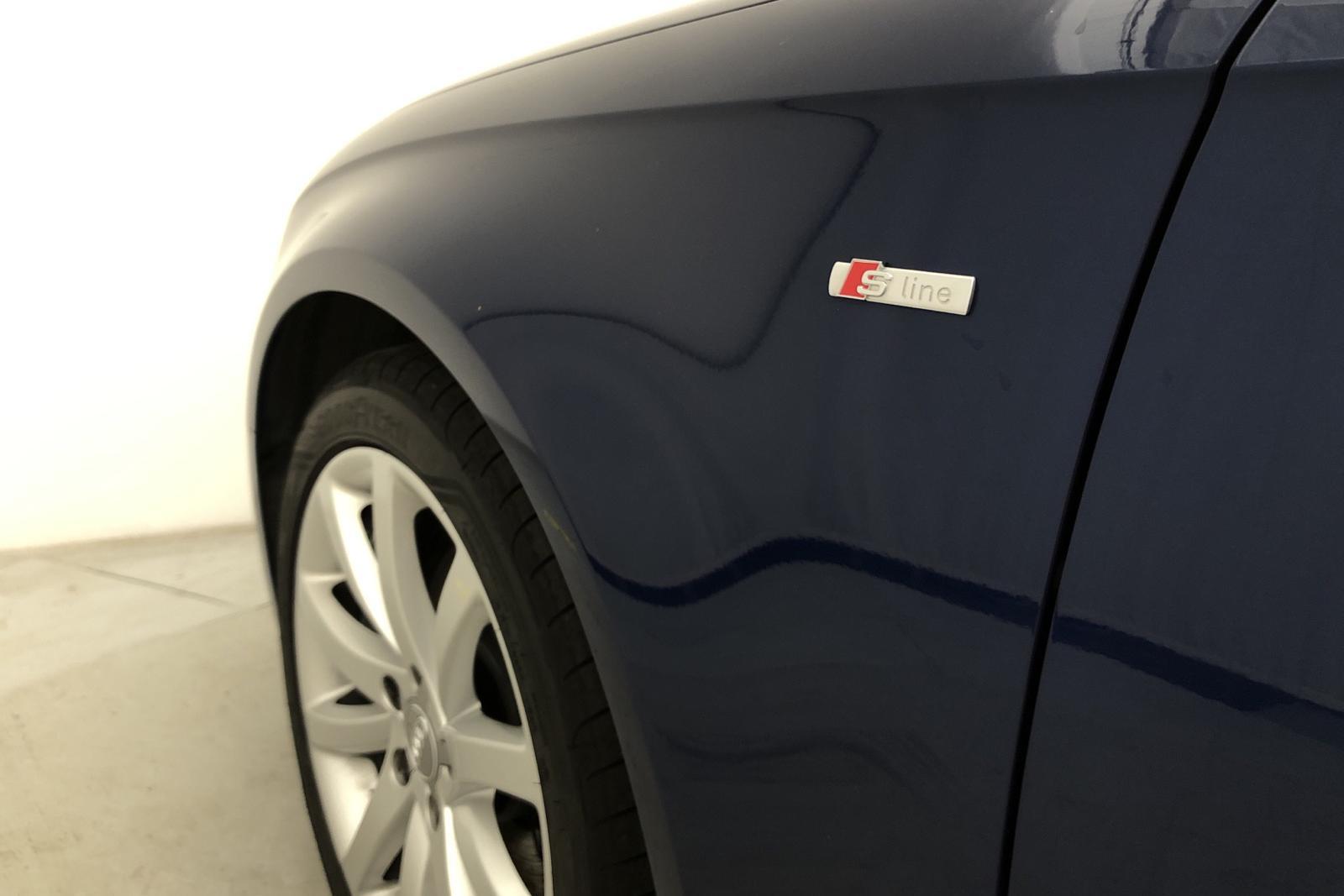Audi A4 2.0 TFSI E85 Avant quattro (180hk) - 106 400 km - Manual - blue - 2015