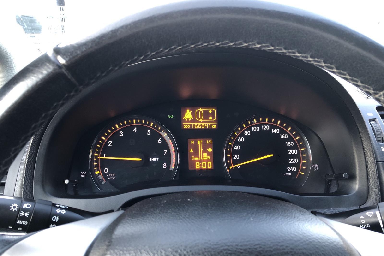 Toyota Avensis 2.0 Kombi (152hk) - 16 600 mil - Manuell - grå - 2009