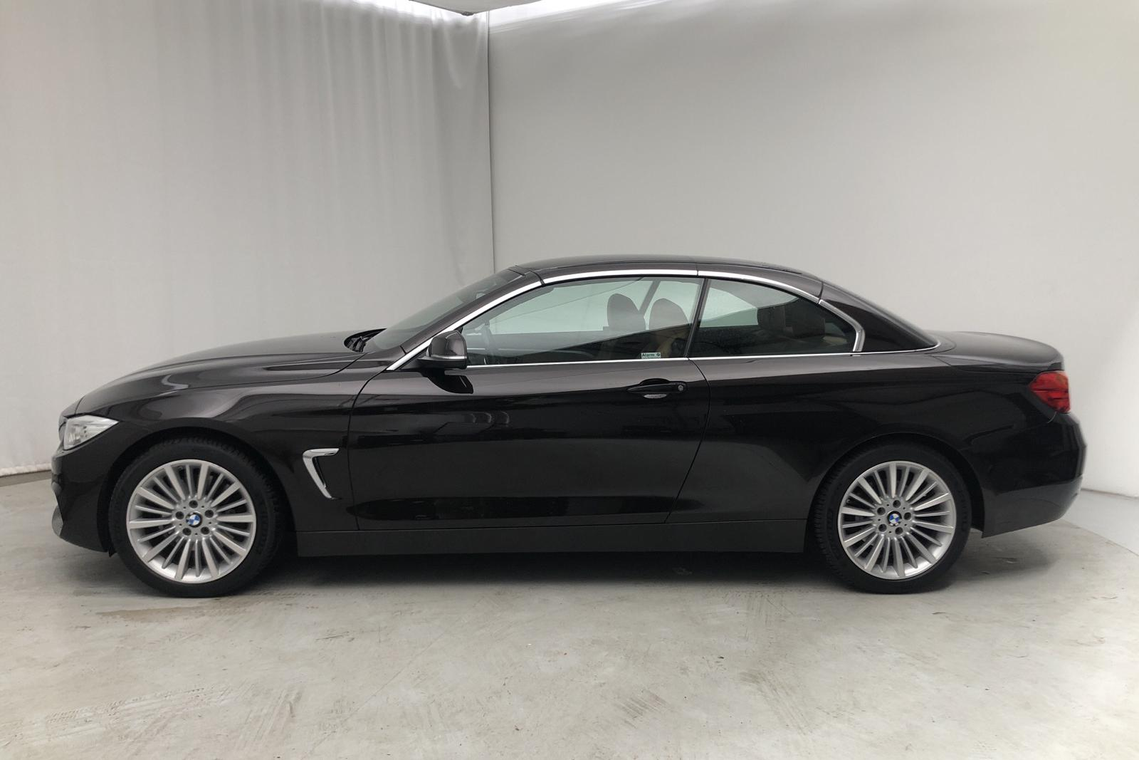 BMW 428i xDrive Cabriolet, F33 (245hk) - 81 000 km - Automatic - brown - 2015