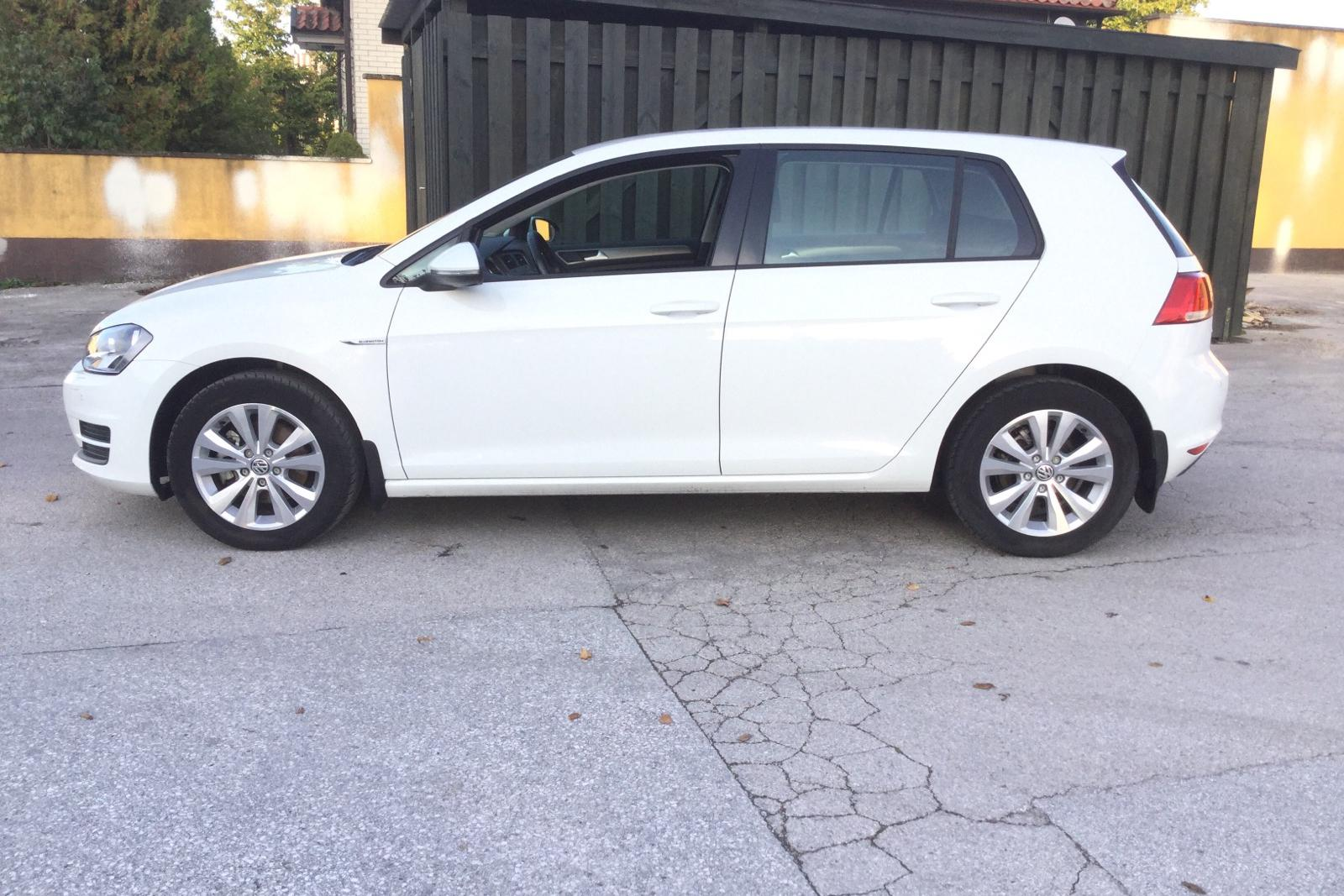 VW Golf VII 1.4 TGI 5dr (110hk) - 0 km - Manual - white - 2016