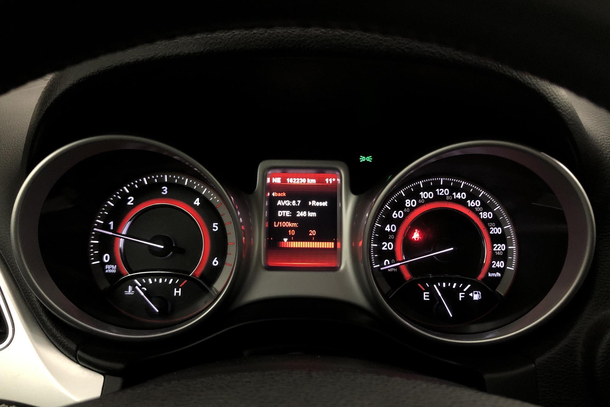 Fiat Freemont 2.0 Multijet 2WD 7 sits (140hk) - 16 222 mil - Manuell - svart - 2012