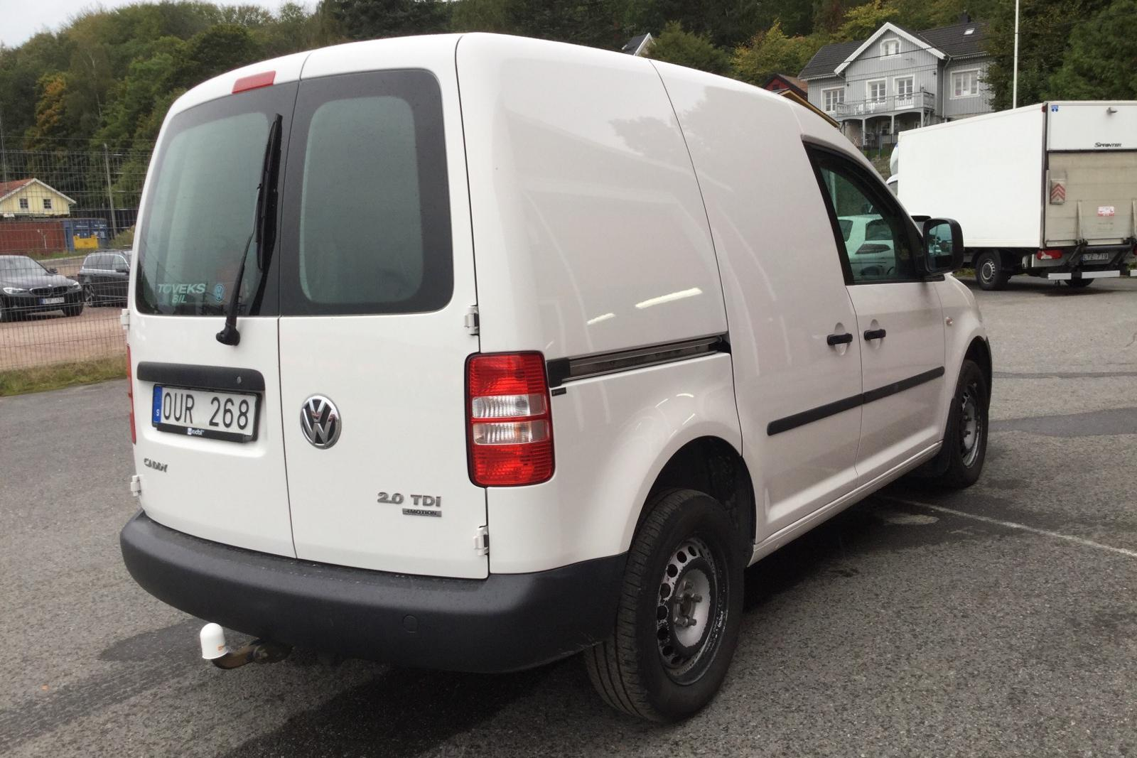 VW Caddy 2.0 TDI Skåp 4-motion (110hk) - 0 mil - Manuell - vit - 2012