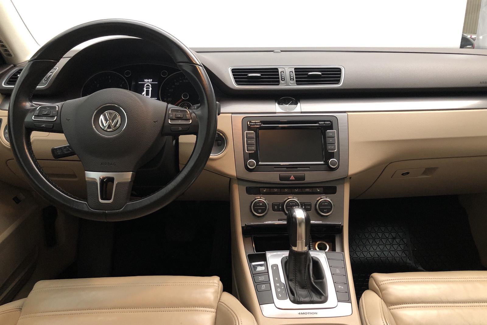 VW Passat 2.0 TDI BlueMotion Technology Variant 4Motion (177hk) - 15 400 mil - Automat - Light Brown - 2014