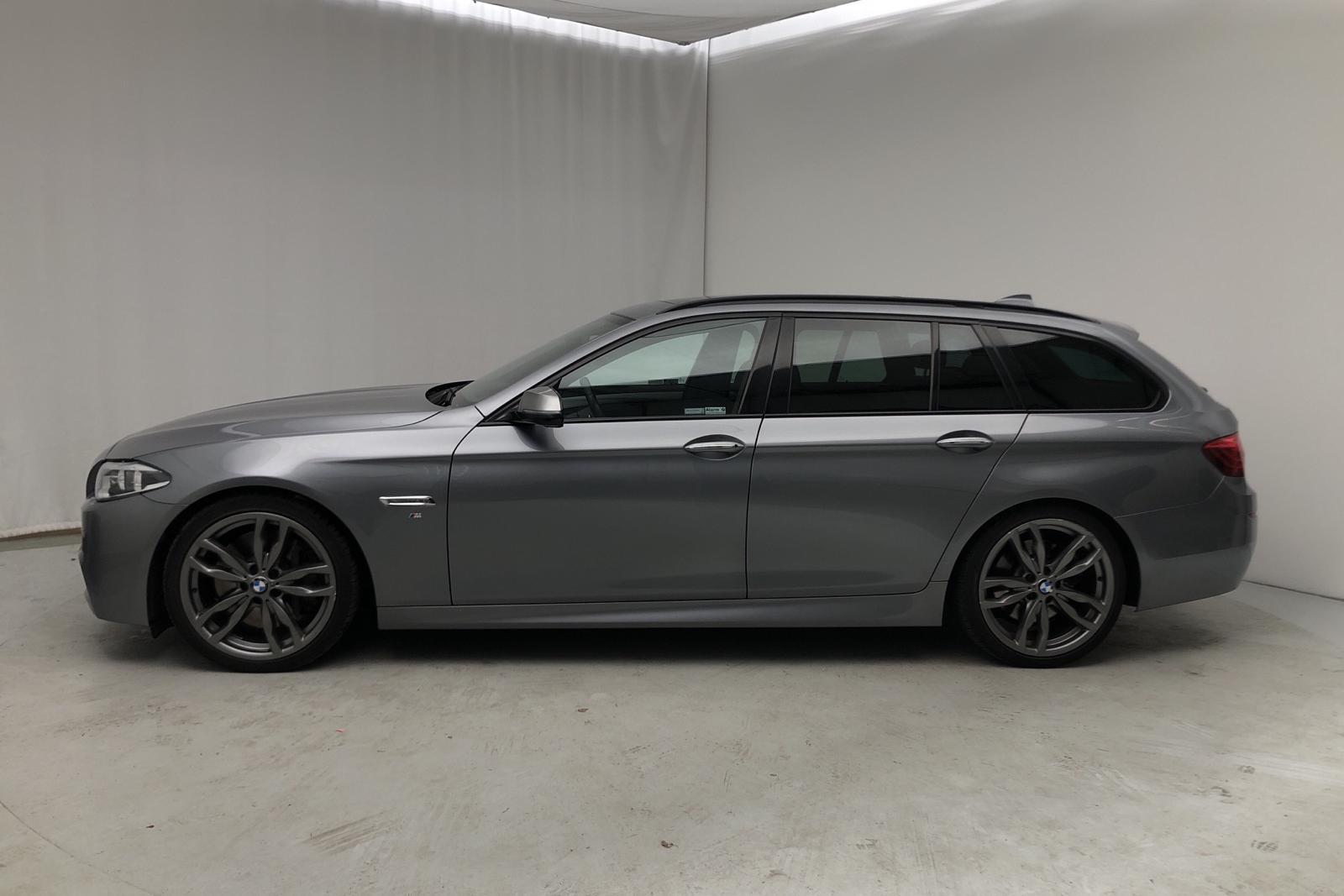 BMW M550d xDrive Touring, F11 (381hk) - 129 000 km - Automatic - gray - 2014