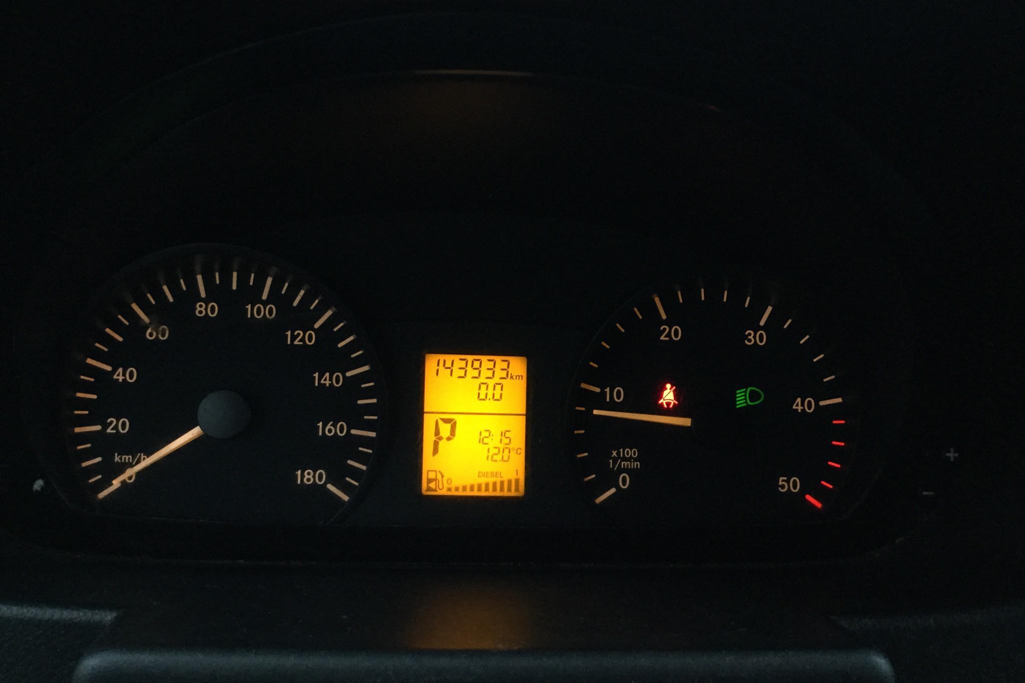 Mercedes Sprinter 310 CDI (95hk) - 14 393 mil - Automat - vit - 2014