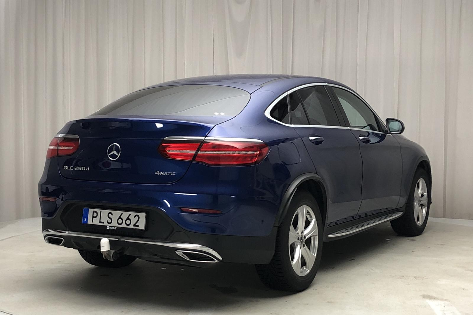 Mercedes GLC 250 d 4MATIC Coupé C253 (204hk) - 54 310 km - Automatic - blue - 2017