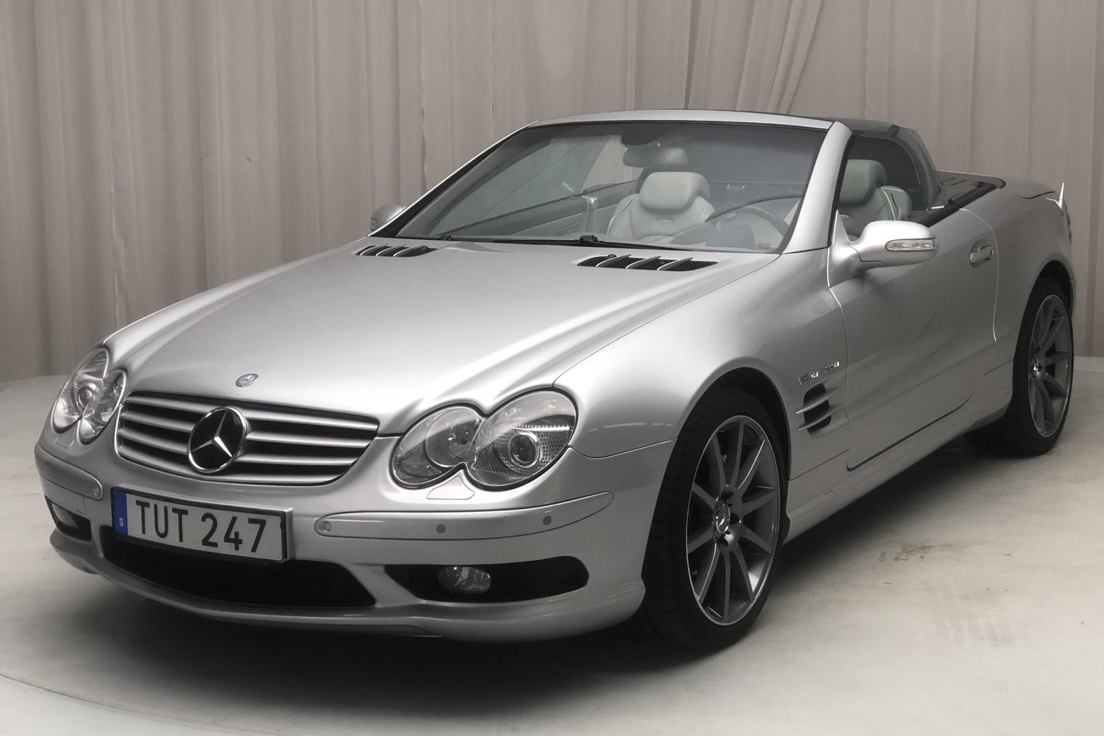 Mercedes SL 55 AMG R230 (500hk) - 67 000 km - Automatic - silver - 2002