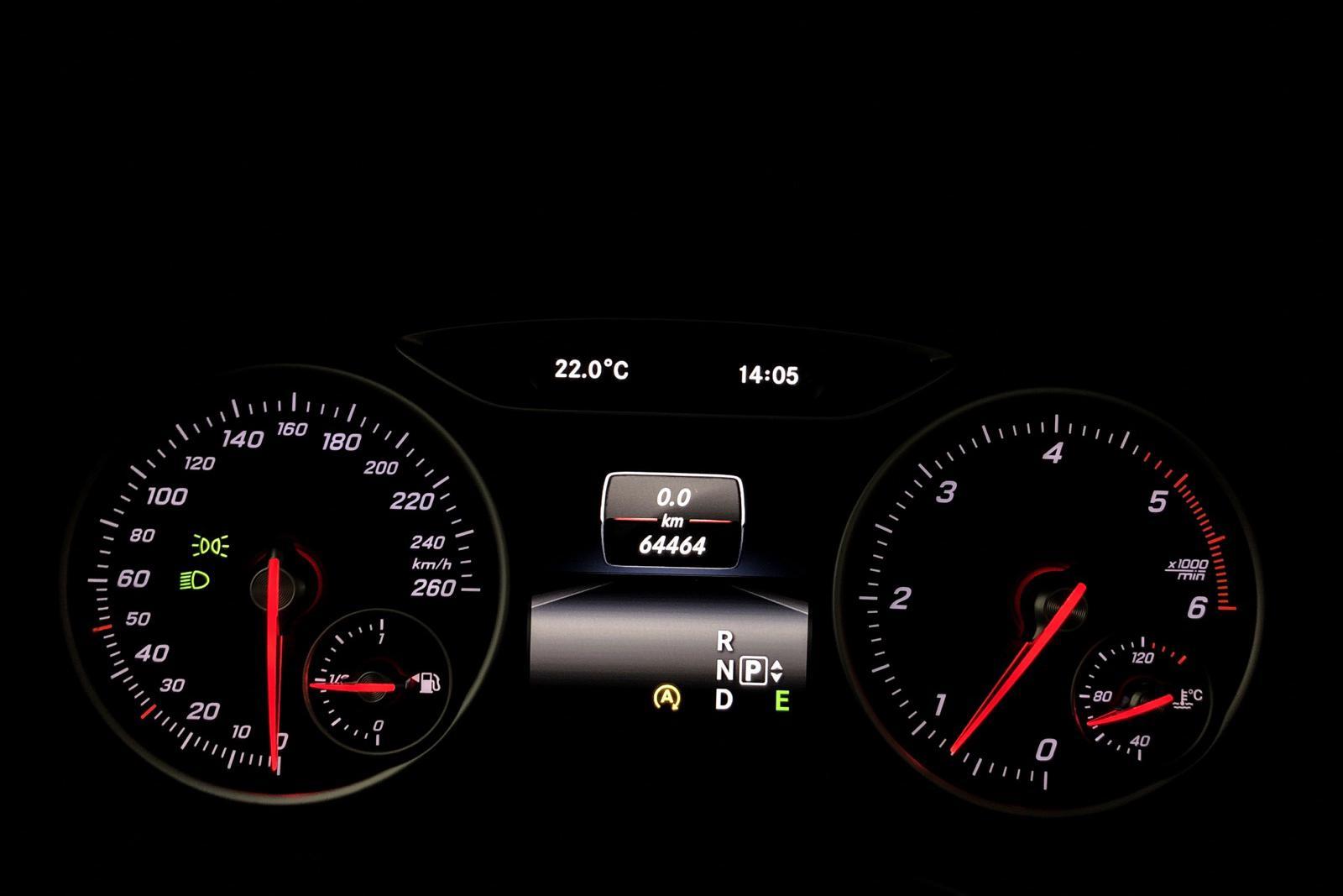 Mercedes B 220 CDI W246 (177hk) - 68 000 km - silver - 2015